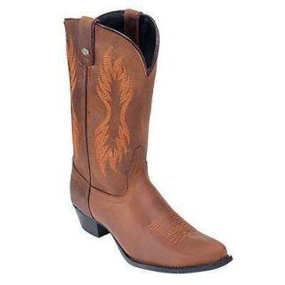 Womens Harley Davidson Cancun Western Cowboy Boot Brown 81577