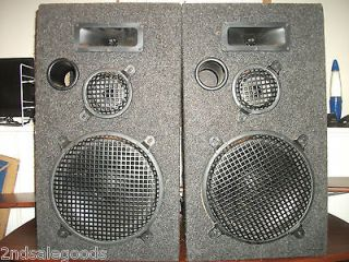Style 3 Way Home Stereo Floor Speakers *USED But Very Nice*Sound Nice