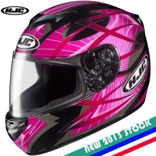STOCK ~ HJC CS R2 Storm MC 8 Motorcycle Full Face Helmet Street DOT