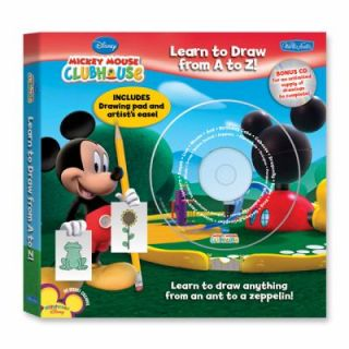 Disneys Mickey Mouse Clubhouse Learn to Draw from A to Z Learn to