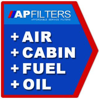 AIR OIL FUEL CABIN FILTER SERVICE KIT Hyundai Santa Fe 2.0 CRDi 4x4