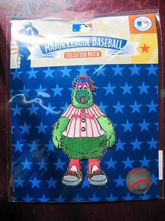 mlb philadelphia phillies phillie phanatic mascot patch