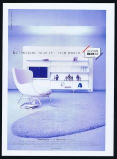 2000 Roche Bobois Furniture Massimo Iosa Ghini Design Magazine Print