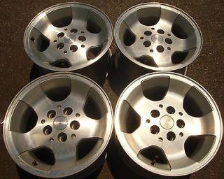 15 2000 01 02 03 Jeep Wrangler Alloy Wheels Rims