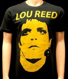 lou reed american rock n roll musician men t shirt