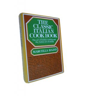 The Classic Italian Cook Book by Marcella Hazan 1976, Hardcover