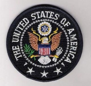 HALLOWEEN COSTUME PARTY PROP PATCH PRESIDENT SEAL WHITEHOUSE PATCH