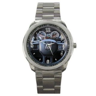 Hot New Best 2012 DODGE Ram 2500 HD Steering Wheels Sport Metal Watch