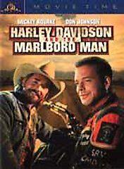 Harley Davidson and the Marlboro Man DVD, 2001, Movie Time