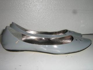 steve madden faux patent leather flats womens 9