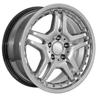 listed 17 inch amg Mercedes Benz wheels rims c clk e ml s sl slk