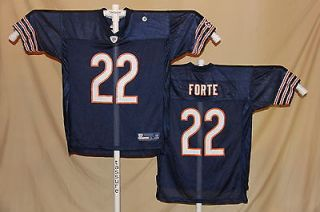 matt forte chicago bears reebok equipment jersey xl nwt bl