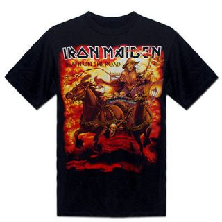 IRON MAIDEN DEATH ON THE ROAD NWT Vintage T Shirt Size M 0