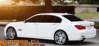 22 Niche Concourse Wheels Silver BMW 6 Series 645 650 M6 E63 E65 MHT