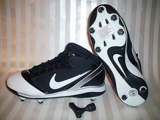 NIKE AIR FLASHPOINT Sz 10 Cleats 3/4 Football Soccer Removable Cleats