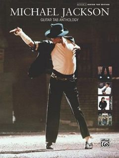 Michael Jackson Guitar TAB Anthology Authentic Guitar TAB by Michael