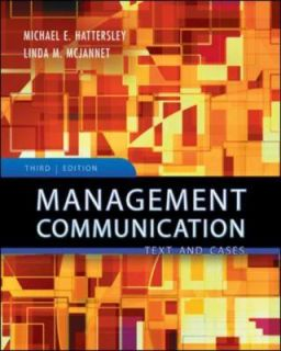Communication Principles and Practice by Michael Hattersley, Michael E