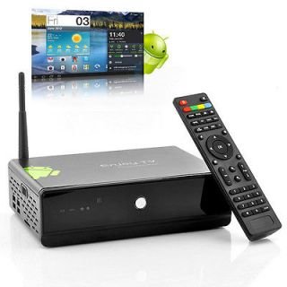 Android 4.0 HDD Bay TV + PC Multimedia Box Media Player, Full HD, WIFI