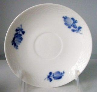 ROYAL COPENHAGEN BLUE FLOWERS BRAIDED SAUCER PLATE 5.75 #8261