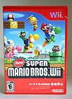 New Super Mario Bros. (Wii, 2009) Works With Wii And Wii U. Brand New