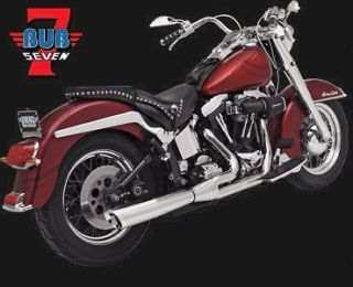 bub 7 2into1 system for harley davidson softail 86 09