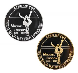 Michael Jackson Limited Edition Tribute Coin   Many Designs Avaliable