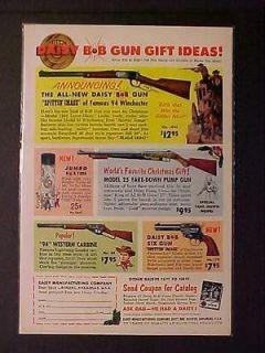 Newly listed OLD ANTIQUE 1961 COWBOY TOY ~DAISY BB GUN AIR RIFLE GUNS