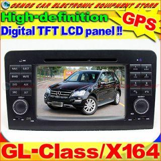 MERCEDES BENZ Class/X164 GL420/GL450 Car DVD Player GPS Navigation