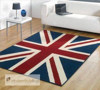 Mini rug Italian job, Union Jack,120x160cm LOW PRICE. Retro Prix