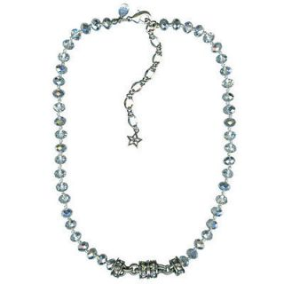 KIRKS FOLLY TIMELESS CRYSTAL BEAD MAGNETIC enhancer NECKLACE ST