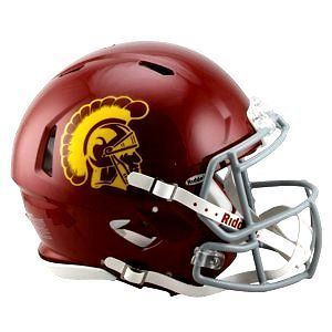 USC Trojans Riddell NCAA College Football Authentic Speed Full Size