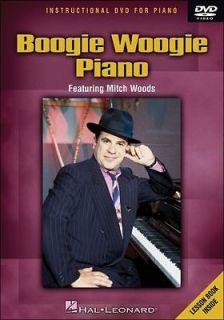hal leonard boogie woogie piano dvd mitch woods