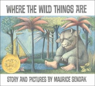 Where the Wild Things Are by Maurice Sendak 1988, Hardcover