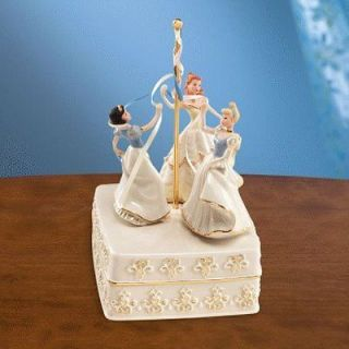 Lenox Disney Dancing The Maypole Belle Cinderella and Snow White New