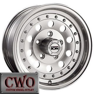 14 Machined ION 71 Wheels Rims 5x114.3 5 Lug Jeep Wrangler Ranger