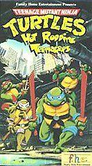 Teenage Mutant Ninja Turtles   Hot Rodding Teenagers VHS