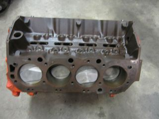 1969 Chevy 396 2 Bolt Main Short Block engine .030 Big block chevy BBC