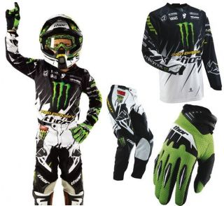 THOR S13 PHASE PRO CIRCUIT YOUTH JERSEY PANT GLOVE COMBO MOTOCROSS