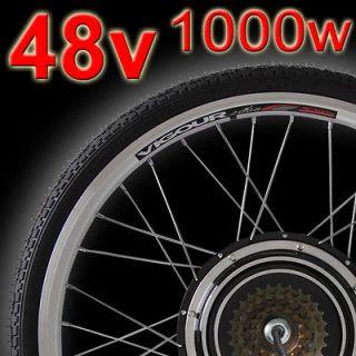 Rear Wheel Electric Bicycle Motor Kit E Bike Cycling Hub Conversion
