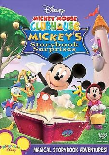 Mickey Mouse Clubhouse   Mickeys Storybook Surprises (DVD, 2008)
