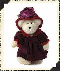 Boyds Plush #904197 MS. ROUGE CHAPEAU, 10 mint/tag NEW from our