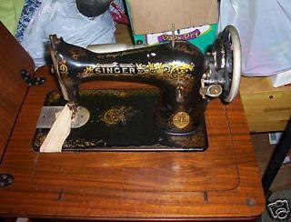 vintage singer 2b sewing machine w cabinet