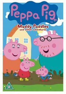 peppa pig muddy puddles and other stories region 2 from
