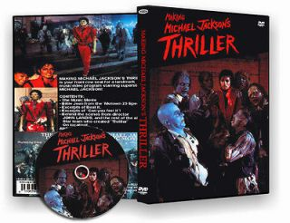 michael jackson the making of thriller rare material dvd from