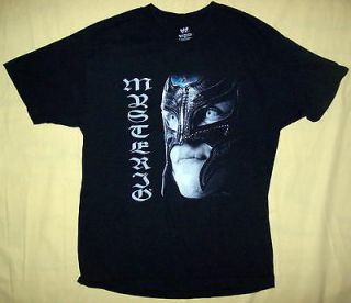 VINTAGE 2005 OFFICIAL WWE REY MYSTERIO WRESTLE MANIA T SHIRT SZ L NICE