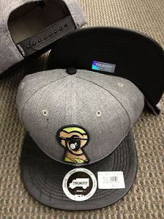 TRUKFIT HAT CAP Snapback Peek a boo Snap Heather Grey black Lil