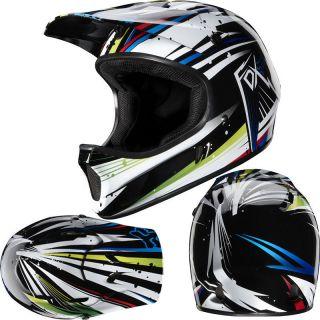 2012 Fox Racing Rampage DH MTB Full Face Bike Cycling Helmet Victory