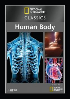 National Geographic Classics The Human Body DVD, 2012, 3 Disc Set