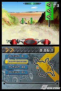 ATV Thunder Ridge Riders Monster Truck DS Nintendo DS, 2007