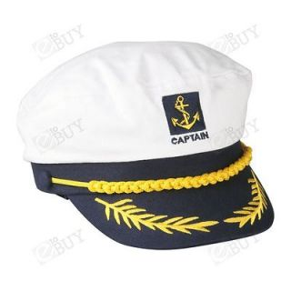 captain navy marine sailor hat cap party fancy dress from hong kong